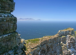 View from the Cape Peninsula on the Sea