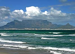 View of Table Mountain, Cape Town