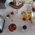 Our delicious and varied breakfast buffet